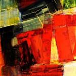 """01/14"",2014,Kunstharz u.Öl,140/100cm"