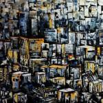 gao cheng , 2014 Acryl/Lw 140x120cm