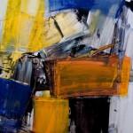 """07/12"",2012,Kunstharz u.Öl,140/100cm"