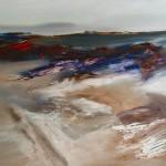 Zwischen Heute und Morgen, 2013, Öl/Lw., 80 x 100 cm
