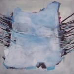 Baldur, Acryl auf Leinwand, 80x80cm, 2015