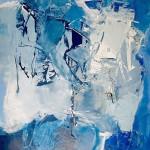 Bartoli, Lack auf Kunststoffplatte, 2014, 100x70cm