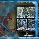 Vergänglichkeitsspuren Foto-collage