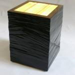 Kubus, 2009, Glas, Holz, Lack 35 x 35 x 40 cm