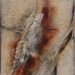Le Quinquerlet 1, 2014, Lw, MM, Kohle, 100 x 120 cm