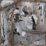 Sierra Nevada 1, 2013, Lw, MM, Pigmente, Mohnöl, Beize,160 x 160 cm