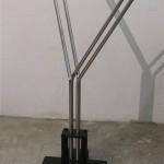 Y-Variationen, Kinetisches Objekt, 80 X 80 X 150 cm