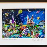 """""""Colours of Cologne"""", 2014, 30 x 40 cm, 3D - Städteportrait, Digitaldruck"""