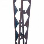 """E 28 """"V"""", 2002, Metallplastik, Höhe: 1,68m"""