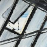 Halle 2 die Zweite, 2011, Öl auf Leinwand, 90 x 130 cm