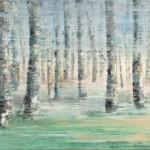 """frühe Sonne"", 2012, Öl auf Leinwand 90 x 190 cm"