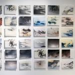 Cumulus I Inkjetprint Büttenpapier I 2015 I 42 x 21 x 30 cm