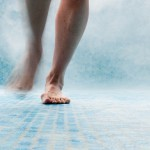 Swimmingpool 2; 60X180cm; Inkjet auf Photopapier;AluDibond
