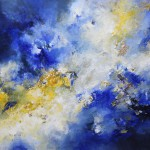 magic clouds - 100 x 80 cm - Acryl auf Leinwand