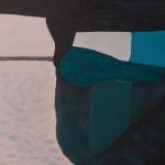 o.T., 2017, Mischtechnik/Leinwand, 60 x 50 cm