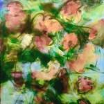 Blühen / Bloom 100 x 150 Acryl a. L. 2018