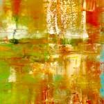 Spiegel / Reflection 50 x 130 Öl auf. Leinw. 2018