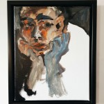 O.T., Acryl auf Leinwand, 2018, 30 x 24 cm