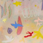 Ocean, 2018, Acryl auf Leinwand, 90 x 100