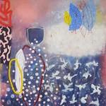Synergie II, 2019, Acryl auf Leinwand, 110 x 100