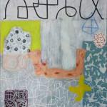 Synergie I, 2018, Acryl auf Leinwand, 110 x 100