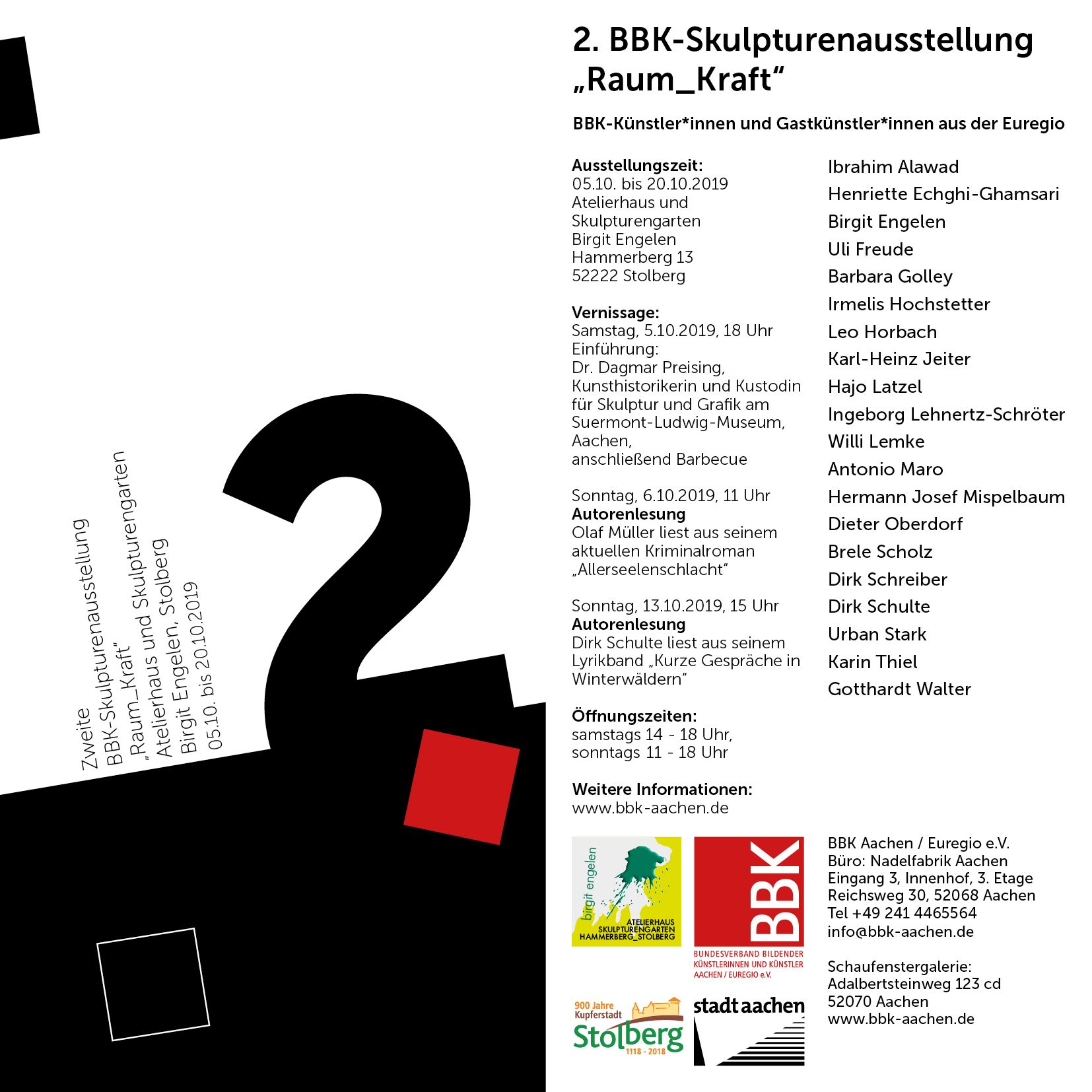 2. Skulpturenausstellung 2019